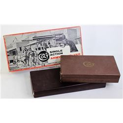 Collection of 3 Colt boxes includes original