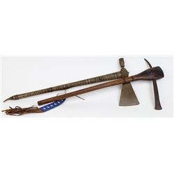 Collection of 2 tomahawks includes