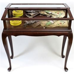 Small contemporary display table