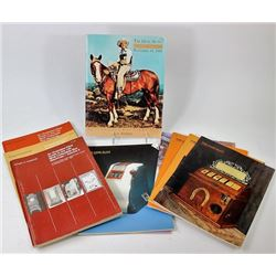 Collection of 11 reference catalogs includes
