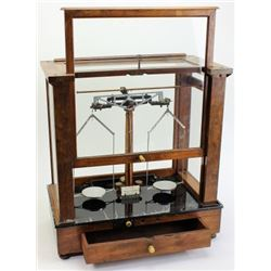 Cased beam scale by Christian Becker Co.