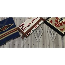 Collection of 4 rugs includes 2 Navajos