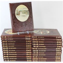 25 volume set of The Old West by Time Life.