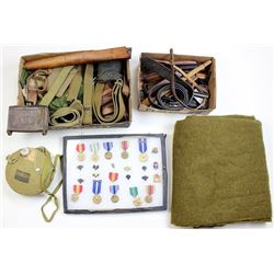 Large collection of U.S. Military items.