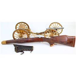 Collection of 3 includes miniature cannon