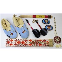 Collection of contemporary beadwork
