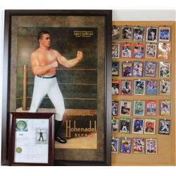 Collection of baseball cards, 1923 Jack Dempsey