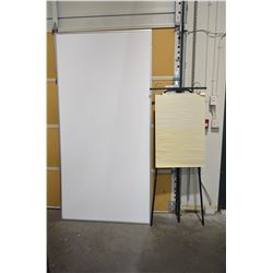 Large (Newer) White Board & Easil