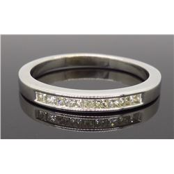 14KT White Gold 0.33ctw Diamond Ring