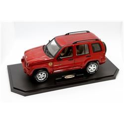 2002 Jeep Liberty Matchbox Collection 1:18 scale