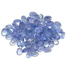 12.58 ctw Oval Mixed Tanzanite Parcel