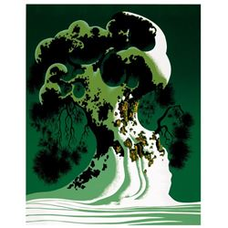 Snow Covered Bonsai by Eyvind Earle (1916-2000)