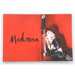 Madonna - VIP Collector Book with Memorabilia 'Rebel Heart Tour', Never Sold to the Public.