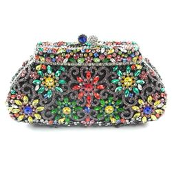 Ladies Clutch Bag - One of a Kind - All Hand Set with Over (1,725cts) 'CZ' and Swarovski Elements. E