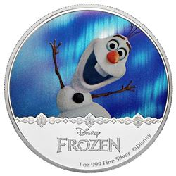 $2 Disney Frozen: Magic of the Northern Lights Collection - Olaf