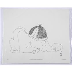 John Lennon Litho - The Singularge Experience of Miss Anne Duffield - Low Edition of Only 12 Worldwi
