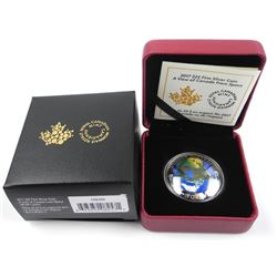 .9999 Fine Silver $25.00 Coin 'A View of Canada Fr