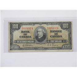 Bank of Canada 1937- One Dollar Note (GT)