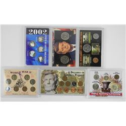 Lot (6) USA Special Issue Coins & Mint Sets.