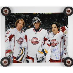 "Daniel Briere - 16x20"" Photo Signed 'MVP' All Sta"
