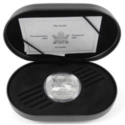 925 Sterling Silver $20.00 Proof Coin, Transportat