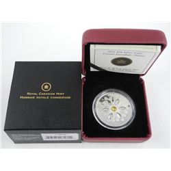 .9999 Fine Silver $20.00 Coin 'Crystal Snowflake'