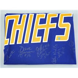 Charlestown Chiefs - 6 Signatures - Hand Signed Je
