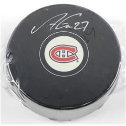 Alex Galchenyuk Montreal Puck, Signed with C.O.A.