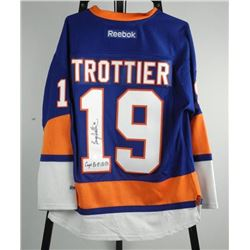 B. Trottier (NYI) Jersey Signed with C.O.A.