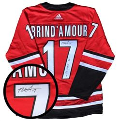Rod Brind'amour Hurrincanes PRO Weight Jersey Sign