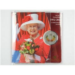 Queen's Diamond Jubilee 1952-2012 Silver Plated 50