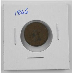 1866 USA Indian Head One Cent