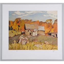 A.J. Casson (1898-1992) Litho . Volume # 1. C.C 'F
