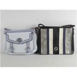Lot (2) Ladies - Carlo G Designer Shoulder Bag