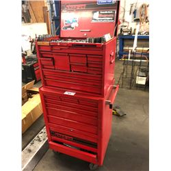 SNAP ON TOOL ROLLING TOOL CABINET LOADED WITH CONTENTS