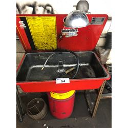SAFETY-KLEEN PARTS WASHER AND BENCH