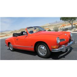 FRIDAY NIGHT FEATURE 1972 VW KARMANN GHIA CONVERTIBLE