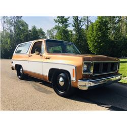 NO RESERVE 1980 GMC JIMMY SIERRA CLASSIC CUSTOM REMOVABLE TOP