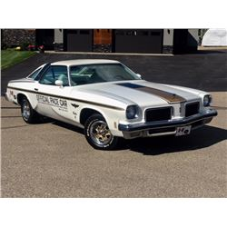 NO RESERVE 1974 OLDSMOBILE HURST W30 INDY 500 PACE CAR DOCUMENTED AND RESTORED