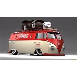 1964 VW PANEL COKE BUS CRAZY CUSTOM!