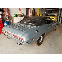 1971 DODGE CHALLENGER 383 CONVERTIBLE FRAME OFF RESTORATION