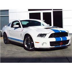 SATURDAY FEATURE 2012 FORD MUSTANG GT 500