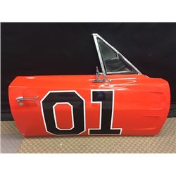 GENERAL LEE 69 CHARGER DOOR SIGNED BY DAISY DUKE CATHERINE BACH