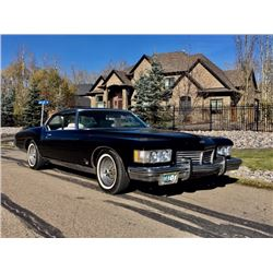 NO RESERVE 1973 BUICK RIVIERA GS BOAT TAIL 455 BIG BLOCK GM OF CANADA DOCUMENTED