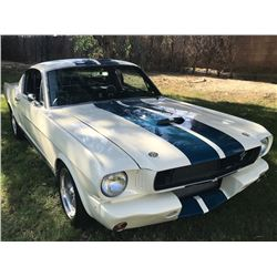 1965 FORD MUSTANG SHELBY GT350 FASTBACK TRIBUTE