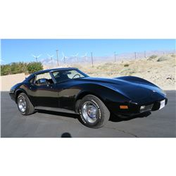 FRIDAY 1975 CHEVROLET CORVETTE L-48