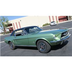 FRIDAY NIGHT FEATURE 1967 FORD MUSTANG COUPE