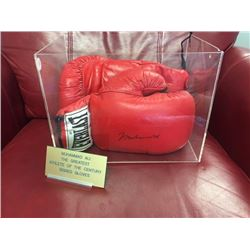 FRIDAY NIGHT MUHAMMAD ALI BOXING GLOVES SIGNED