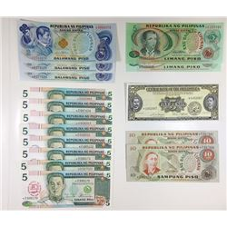 Central Bank and republic of the Philippines, A Large & Impressive 22 Piece Assortment of Replacemen