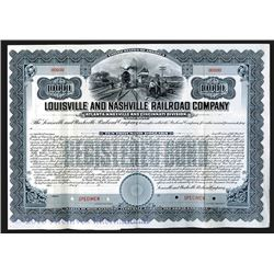 Louisville and Nashville Railroad Co., Atlanta, Knoxville and Cincinnati Division, 1905 Specimen Bon